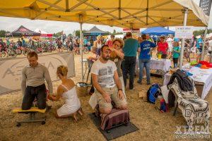 Partenariat avec Adréa Mutuelle  VTT Trail d'Amaye Sur Orne , septembre 2016